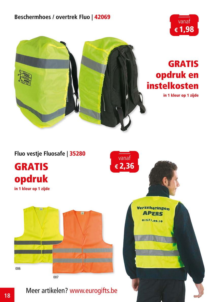 53842f538c2 Beschermhoes / overtrek Fluo | 42069 vanaf € 1,98 GRATIS opdruk en  instelkosten in ...